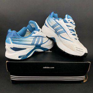 adidas Falcon 2002 W Womens 8.5 Running Shoes Blue